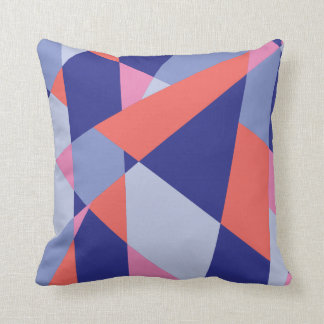 Colorful Abstract Shapes Cushion