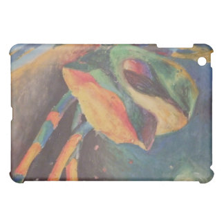 Colorful abstract shapes in space iPad mini cover
