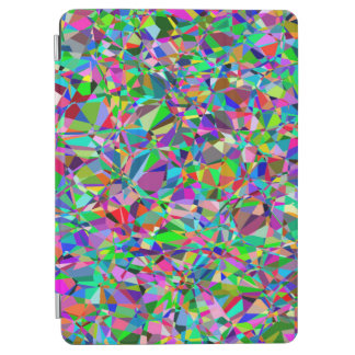 Colorful Abstract Small Concentric Circles Art iPad Air Cover