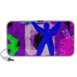 Colorful Abstract Notebook Speaker