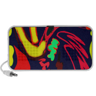 Colorful Abstract Portable Speaker