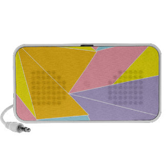 Colorful Abstract iPhone Speakers