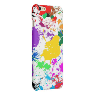 colorful abstract splash art iPhone 6 plus case