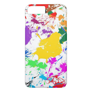 colorful abstract splash art iPhone 7 plus case