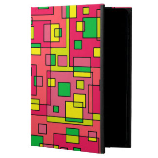 Colorful Abstract Square-Red Yello Green Powis iPad Air 2 Case