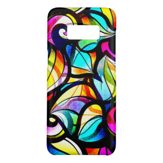 Colorful Abstract Stained Glass Look Case-Mate Samsung Galaxy S8 Case