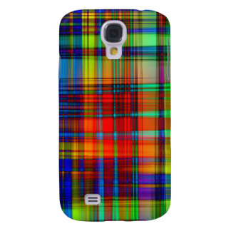 Colorful Abstract Stripes Art Galaxy S4 Case