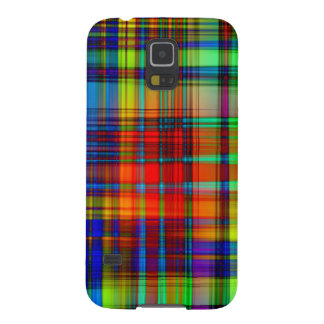 Colorful Abstract Stripes Art Galaxy S5 Case