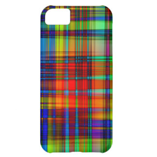 Colorful Abstract Stripes Art iPhone 5C Case