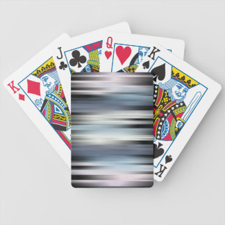 Colorful Abstract Stripes Bicycle Playing Cards