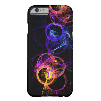 Colorful Abstract Swirling Smoke Rings Barely There iPhone 6 Case