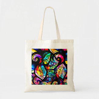 Colorful Abstract Swirls And Circles Design