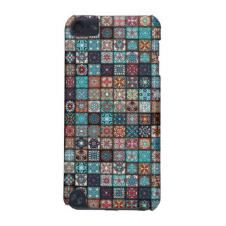 Colorful abstract tile pattern design iPod touch (5th generation) cases