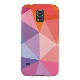 Colorful Abstract Triangle Pattern Cases For Galaxy S5