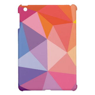 Colorful Abstract Triangle Pattern Cover For The iPad Mini