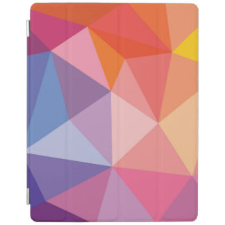 Colorful Abstract Triangle Pattern iPad Cover