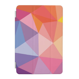 Colorful Abstract Triangle Pattern iPad Mini Cover