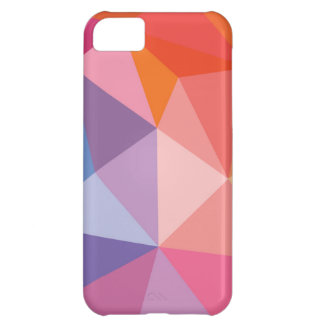 Colorful Abstract Triangle Pattern iPhone 5C Case