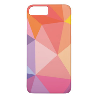Colorful Abstract Triangle Pattern iPhone 8 Plus/7 Plus Case