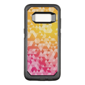 Colorful Abstract Triangle Pattern OtterBox Commuter Samsung Galaxy S8 Case