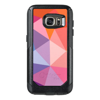 Colorful Abstract Triangle Pattern OtterBox Samsung Galaxy S7 Case