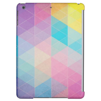Colorful abstract triangles background