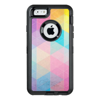 Colorful abstract triangles background OtterBox iPhone 6/6s case