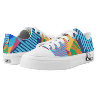 Colorful Abstract Tropical | Low Top Shoes