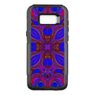 Colorful Abstract Wave OtterBox Commuter Samsung Galaxy S8+ Case