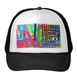 Colorful Abstract Windows of Opportunity Gifts FUN Cap