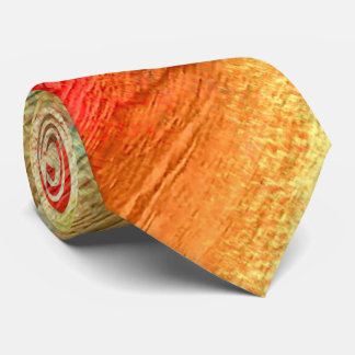 Colorful Abstract Wood Grain #2 Tie
