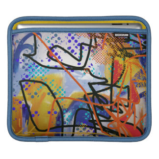 colorful abstraction sleeve for iPads