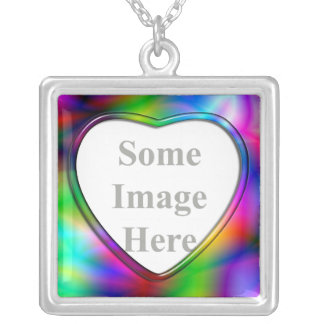 Colorful Abstraction Necklace