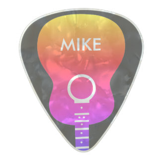 colorful acoustic-guitar cool pearl celluloid guitar pick