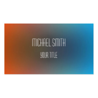 Colorful Acrylic Abstract Pack Of Standard Business Cards