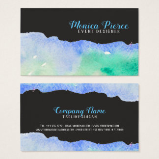 Colorful Acrylic Design Business Card