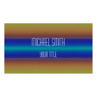 Colorful Acrylic Rainbow Abstract #4 Pack Of Standard Business Cards