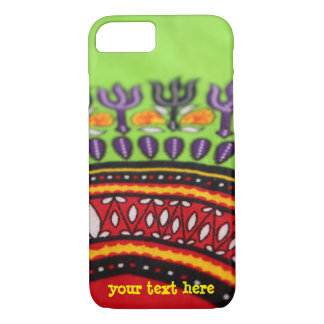 Colorful African fabric PhoneCase  -- Customizable iPhone 8/7 Case