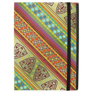 "Colorful African Masks Stripe Kente Pattern iPad Pro 12.9"" Case"