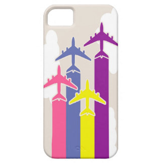 Colorful airplanes case for the iPhone 5