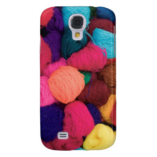 Colorful Alpaca Wool, Huaraz, Cordillera Blanca Galaxy S4 Case