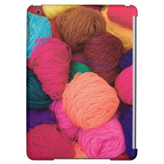 Colorful Alpaca Wool, Huaraz, Cordillera Blanca iPad Air Case