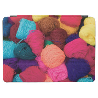 Colorful Alpaca Wool, Huaraz, Cordillera Blanca iPad Air Cover