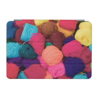 Colorful Alpaca Wool, Huaraz, Cordillera Blanca iPad Mini Cover