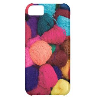 Colorful Alpaca Wool, Huaraz, Cordillera Blanca iPhone 5C Case