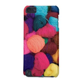 Colorful Alpaca Wool, Huaraz, Cordillera Blanca iPod Touch (5th Generation) Cases