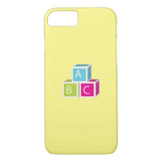 Colorful Alphabet blocks iPhone 7 Case
