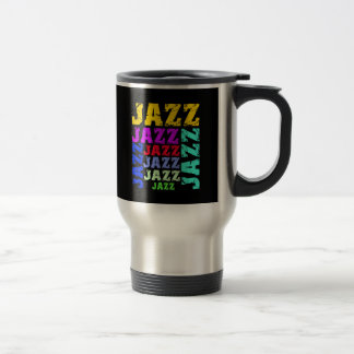 Colorful and cool jazz coffee mugs