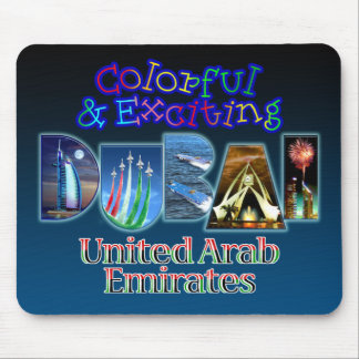 Colorful and Exciting Dubai Mouse Mat