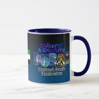 Colorful and Exciting Dubai Mug